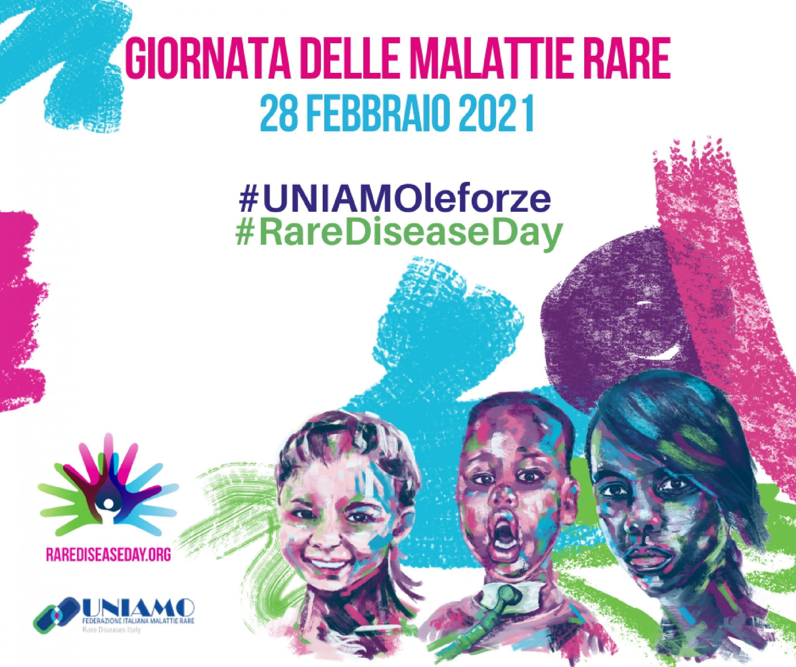 Giornata Mondiale delle Malattie Rare - 28 Febbraio 2021 -