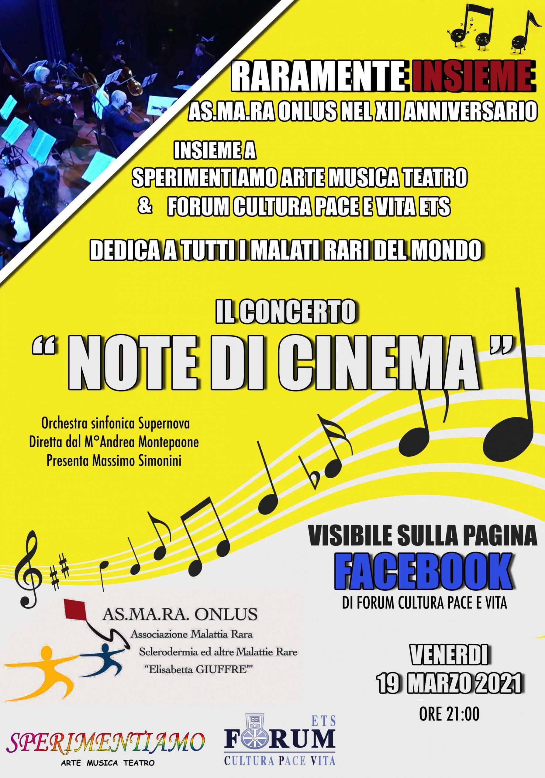 """Concerto """"Note di Cinema"""""""